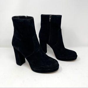 Vince Camuto Jemeria Black Platoform Heel Boots
